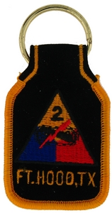 2nd Armored Division Key Rings