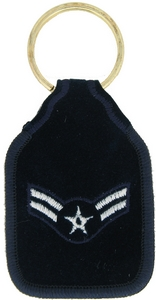 US Air Force Airman 1st Class Key Rings
