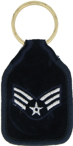 US Air Force SR Airman Key Rings