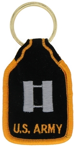 US Army CPT Key Rings