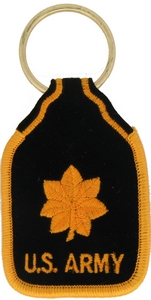 US Army MAJ Key Rings