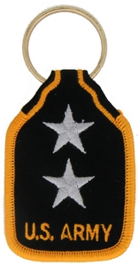 US Army M/GEN Key Rings