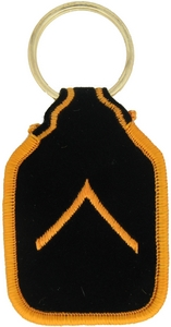 US Army PVT Key Rings