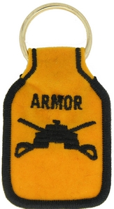 US Army Armor Key Rings