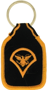 US Army Spec/4 Key Rings