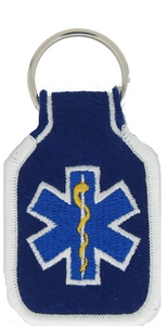 Star of Life Key Rings