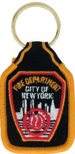 NYC Fire Dept Key Rings