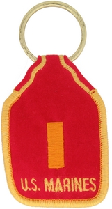 US Marine Corps 2nd LT Key Rings