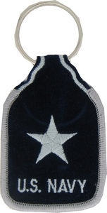 US Navy RADM 1 Star Key Rings
