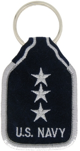 US Navy V/ADM Key Rings