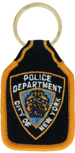 NYC Police Dept Key Rings
