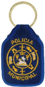 Policia Municipal Key Rings