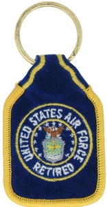 US Air Force Retired Key Rings