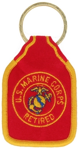 US Marine Corps Retired Key Rings