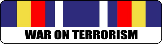 Global War On Terrorism Service Ribbon Stickers