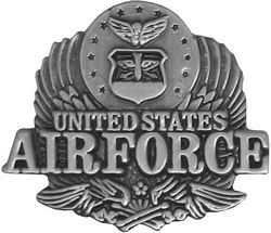 Air Force Eagle Air Force Hat Pins