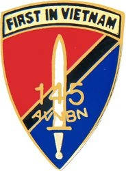 145th Aviation Battalion Army Hat Pins