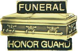 Funeral Honor Guard Hat Pins