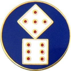 11th Corps Army Hat Pins