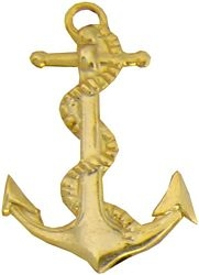 Anchor Navy Hat Pins