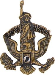POW/MIA Eagle/Liberty Hat Pins