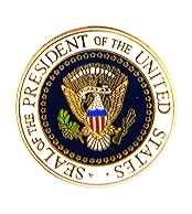 Seal of the President Hat Pins
