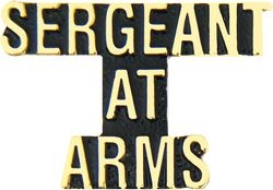 Sergeant At Arms Hat Pins