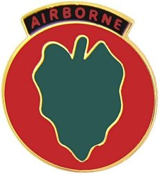 24th Infantry Airborne Army Hat Pins