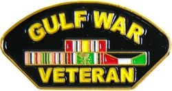 Gulf War Veteran Hat Pins