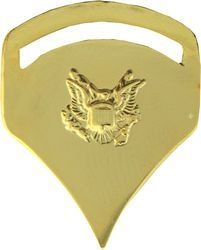 Specialist E-5 Gold Army Hat Pins