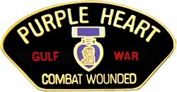 Gulf War PH Combat Wounded Hat Pins