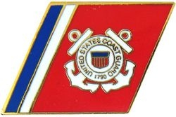 US Coast Guard Racing Stripes Hat Pins