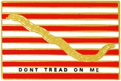 Don't Tread On Me Hat Pins