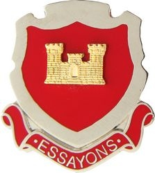 Corps of Engineers Essayons Army Hat Pins
