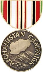 Afghanistan Campaign Hat Pins