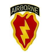 25th Infantry Division Airborne Army Hat Pins