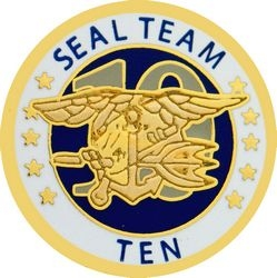 Seal Team 10 Navy Hat Pins