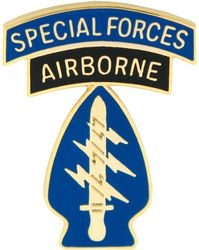 US Army Airborne Special Forces Hat Pins