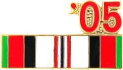 Afghanistan Service Ribbon 2005 Hat Pins