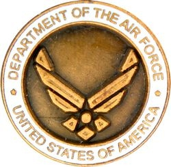 Department of the Air Force Hat Pins