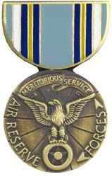 US Air Force Reserve Meritorious Hat Pins