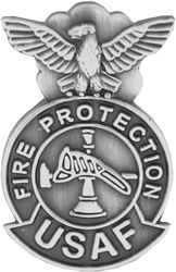 Fire Protection Air Force Hat pins