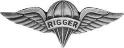 US Army Pararigger (Rigger) Army Hat Pins