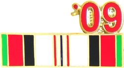 Afghanistan Service Ribbon 2009 Hat Pins