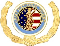 National Guard Army Hat Pins
