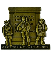 A Greatful Nation Remembers hat pins