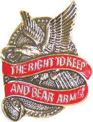 Right To Keep and Bear Arms Hat Pins