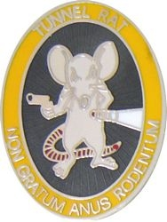 Vietnam Tunnel Rat Hat Pins