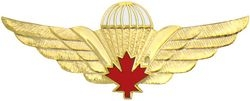 Canadian Paratrooper Wings