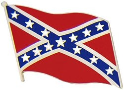 Confederate Flag Hat Pins